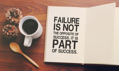 failure is the pathway to success