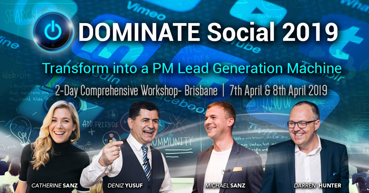DOMINATE SOCIAL 2019 Conference for Property Management BDMs